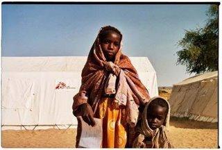 Photo de Peter Casaer - Enfants du Darfour