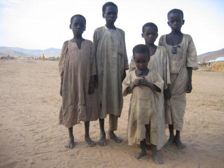 Enfants tchadiens - IRIN