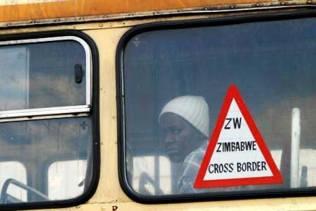 Frontière Zimbabwe - Afrique du Sud (Photo IRIN)