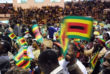 Congrès de la Zanu-PF en décembre 2007 - Photo IRIN