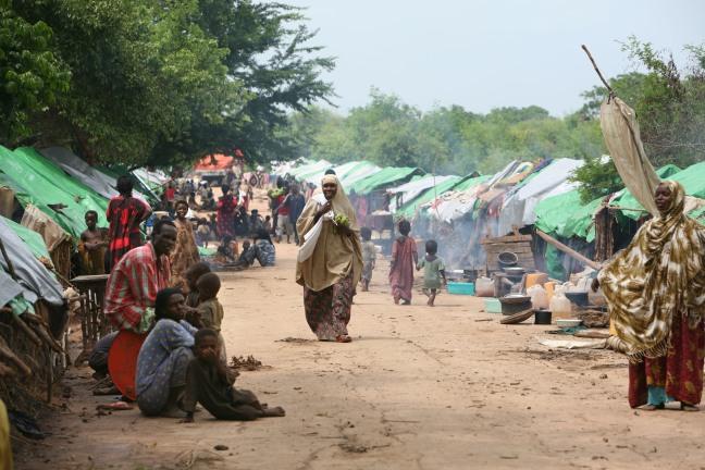 Réfugiés de Mogadisio- Kismayo (photo IRIN)
