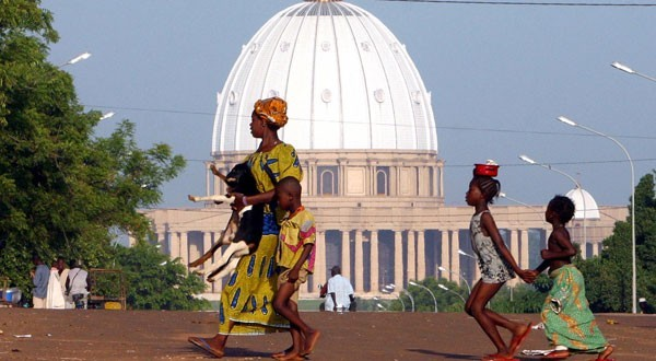 Yamoussoukro ( Luc Gagny - Reuters)